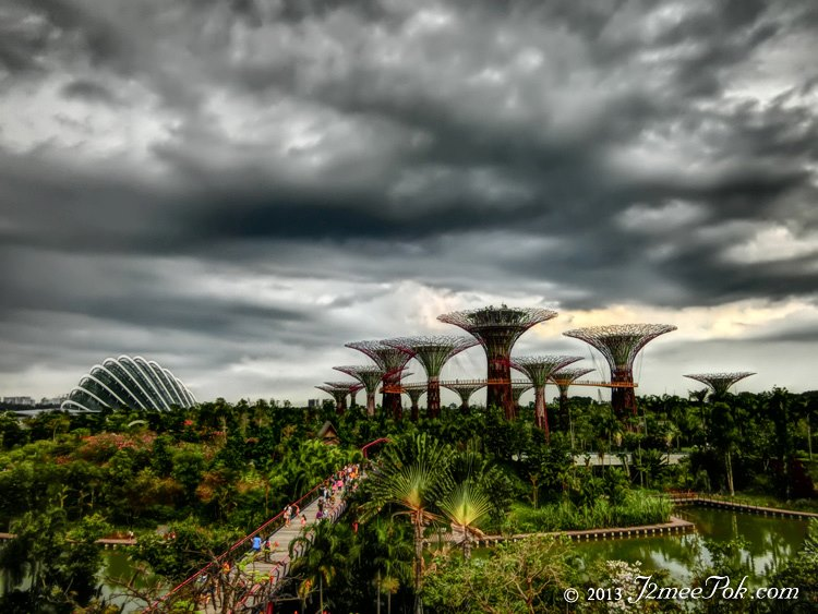 HDR of Garden by the bay