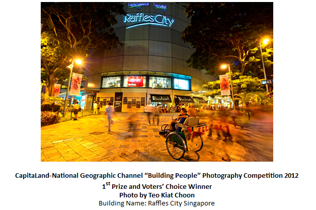 "CapitaLand-National Geographic Channel ""Building People"" Photography Competition 2012"
